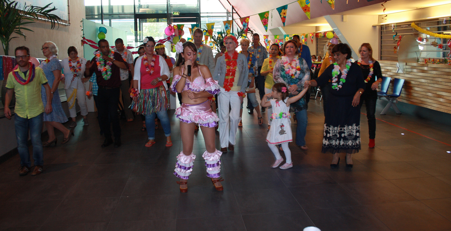 Workshop Salsa dansen livesteelband.nl